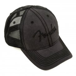 Fender HAT Washed Trucker Grey One Size